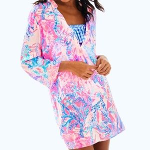 NWT Lilly Pulitzer beach cover up
